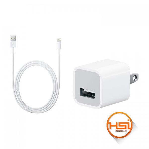 de4189e83b7 Cargador Pared Apple Cubo + Cable Original Lightning iPhone Usado ...
