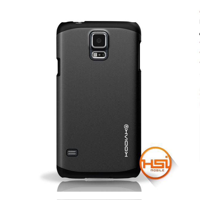 f09d6a703b4 Forro Kodiak Alumina Shield para Galaxy S5 + Antihuella - Negro ...