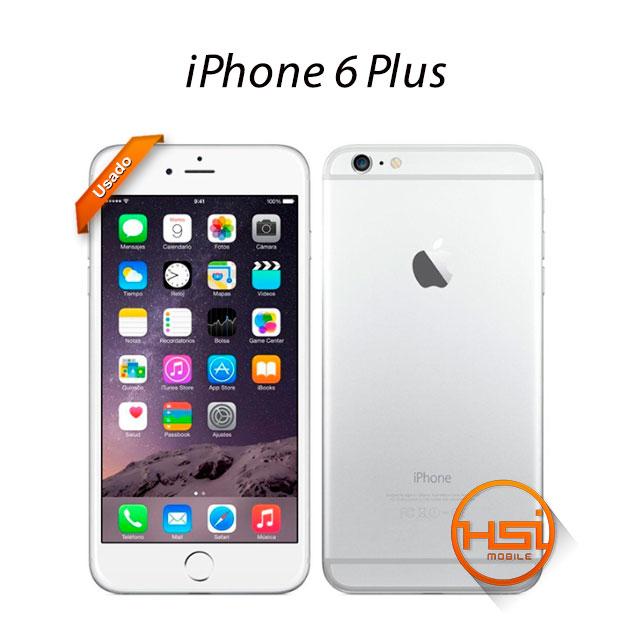 5701fa4c88a iPhone 6 Plus A+ 128GB Usado - HSI Mobile