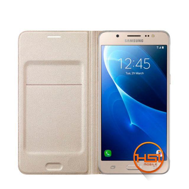 4b8ab43ce66 Flip Cover Original Samsung Flip Wallet Galaxy J5 2016 - HSI Mobile