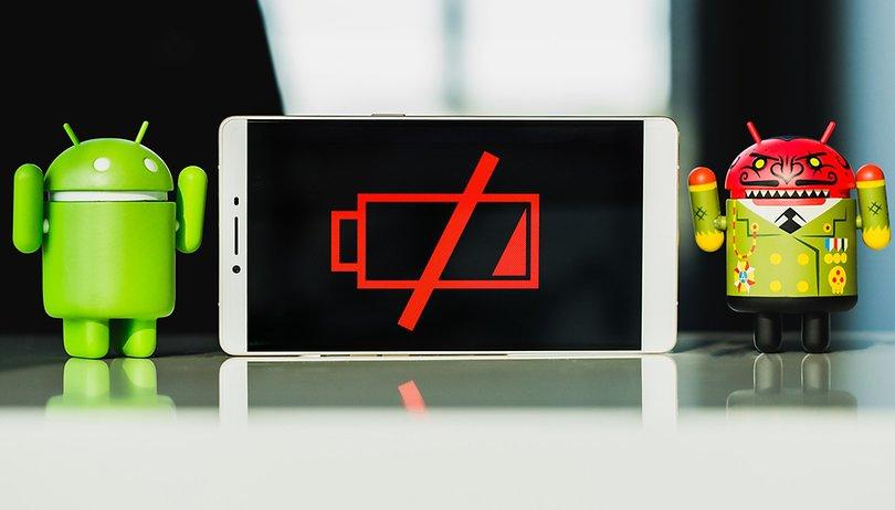 Telefonos android con mejor batería 2018
