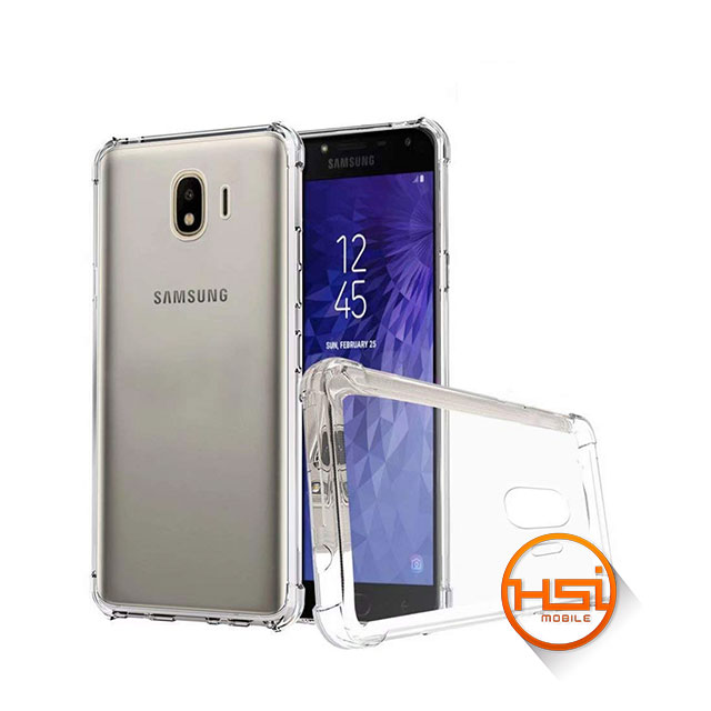fb4c3de56fe Forro Silicona Alpha Antigolpes Galaxy J4 2018 - HSI Mobile