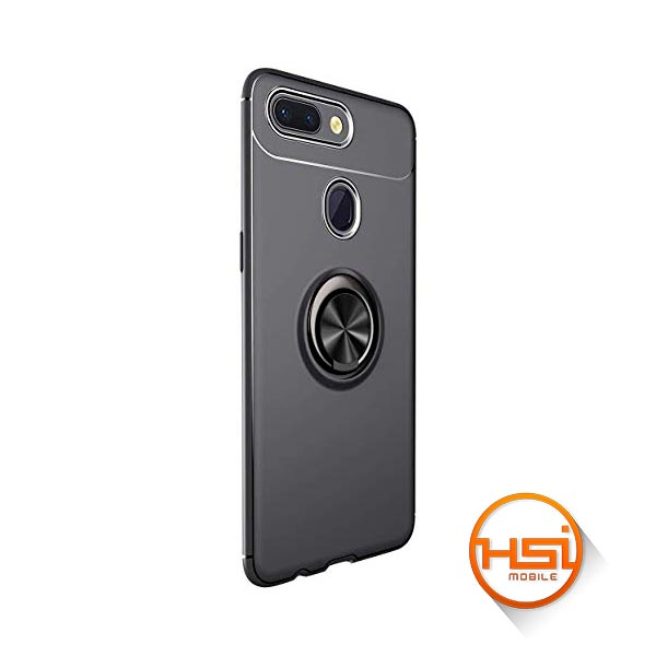 8213d4ff01a Forro Silicona + Anillo Soporte Magnetico Xiaomi Mi 8 Lite - HSI Mobile